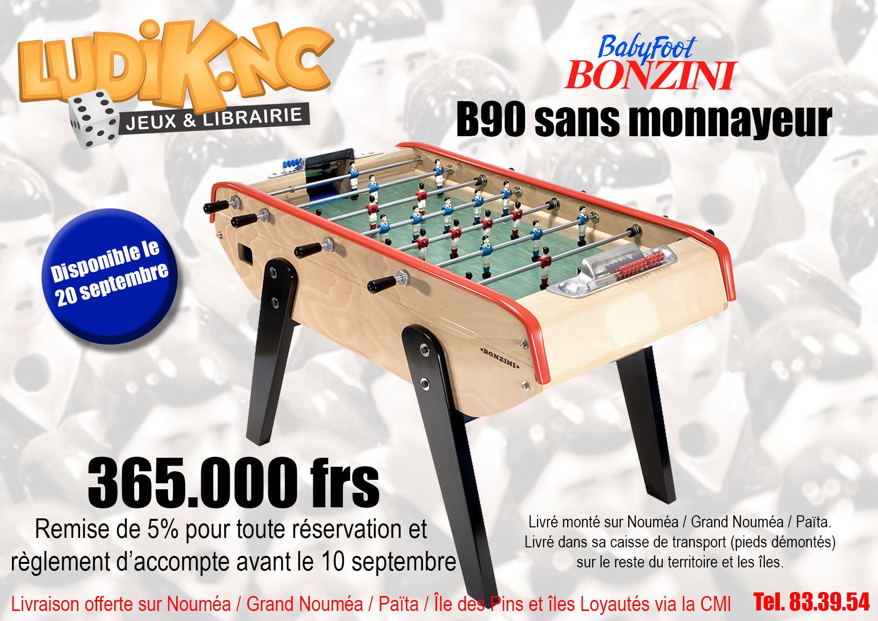 Babyfoot Bonzini B90 sans monnayeur